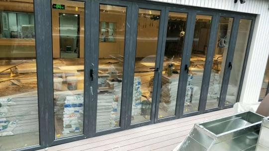 重庆大折叠门案例