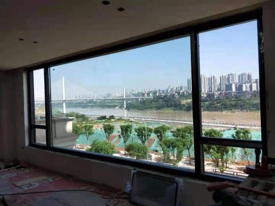 重庆江景房窗58001900,大玻璃3660宽